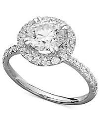 cubic zirconia white gold engagement rings cubic zirconia rings shop cubic zirconia rings macy s