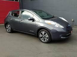 nissan leaf lease seattle paramount motors nw 2013 nissan leaf sl premium qc