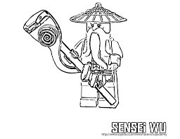 lego ninjago coloring pages sensei bebo pandco