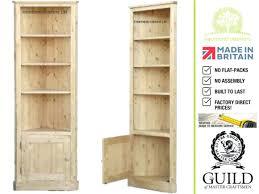 build corner bookcase plans with glass doors bookshelf white