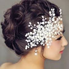 headbands comb bridal hair accessories clear
