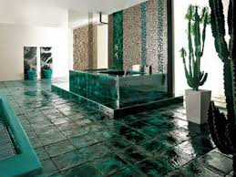 green tile bathroom ideas