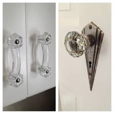 vintage kitchen cabinet hinges new cabinet hardware to match the glass art deco doorknobs retro