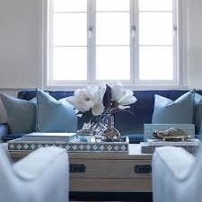 dark blue velvet living room sofa design ideas