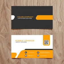 Free Business Card Designs Templates Modern Simple Business Card Template Vector Free Download