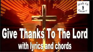 give thanks to the lord psalm 107 thanksgiving song with lyrics