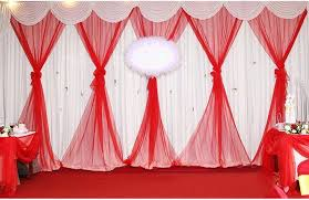 Fabric Drapes 75cm Wide 60m Long Crystal Organza 18 Colors For Choose Tulle
