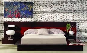 italian contemporary bedroom sets adriana italian design bedroom set with lights on platform bed