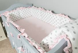 Fancy Crib Bedding Pink Crib Bedding Sets At Home And Interior Design Ideas