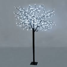 large decorative cool white blossom bonsai style led tree light