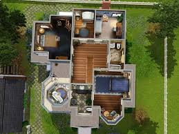 floor plans for sims 3 remarkable 4 floor plans for sims 3 the house homeca