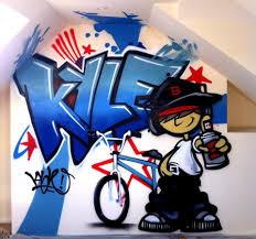 B Q Home Decor Urban Graffiti Bedding And Curtains Wallpaper Iphone Bedroom Diy