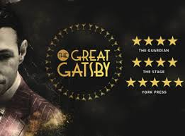 Sho Gatsby the great gatsby tickets uk drama show times details