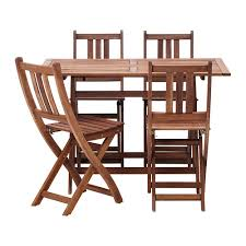 Ikea Backyard Furniture Ikea Bollo Table And 4 Chairs For 130 Additional Chairs Are 20