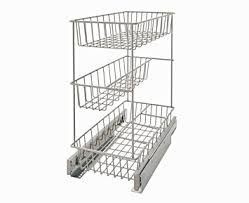 Pull Out Baskets For Kitchen Cabinets by Amazon Com Closetmaid 32105 Premium 8 75