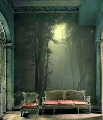 Designing A Wall Mural I Actually Love These Walls Mi Piace Pinterest Wall Murals