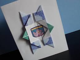 How To Make Origami Greeting Cards - birthday card simple and stunning origami birthday card simple