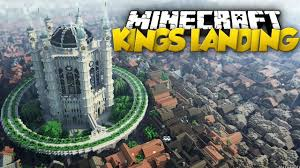 Map Of Kings Landing Minecraft Map Game Of Thrones 1 9 2 1 11 2 1 11 2 Youtube