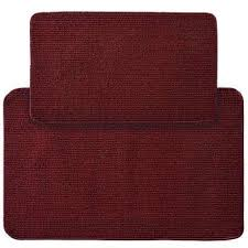 2 X 4 Kitchen Rug Burgundy Kitchen Rugs Mats Mats The Home Depot