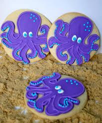 Decorated Gourmet Cookies Jesicakes Ocean Themed Decorated Sugar Cookies