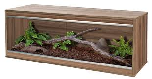Vivarium Wood Decor Vivexotic Repti Home Compact Vivarium Lge Walnut 45inch Swell