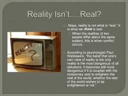 discovering our realities the perception process