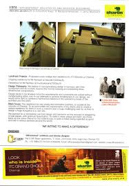 commercial building architects in chennai off centered