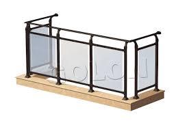 china elegant aluminum glass railing manufacturers