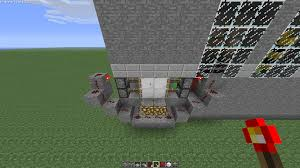 the green glass door game alternate way to making sliding doors redstone discussion and