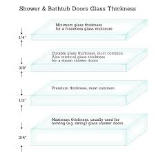 Used Glass Shower Doors by Glass Thickness U2013 Exploring Glass Options Luxuryglassny