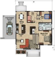 compact house design modern house plans compact modern house plan 90262pd