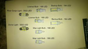 Led Light Bulbs For Car Interior by Install Interior Led Lights