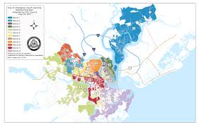 Los Angeles City Council District Map by The Gentrification Of The Urban Fringe In Charleston South Carolina