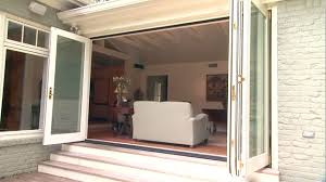Images Of Patio Doors Folding Patio Doors Bring The Outdoors In Today S Homeowner