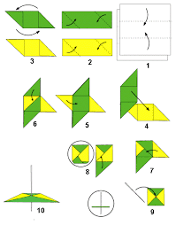cara membuat origami kincir angin origami cara membuat gasing dan baling baling putar bintangtop