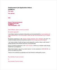Application Letter For Applying As 46 Application Letter Exles Sles Pdf Doc