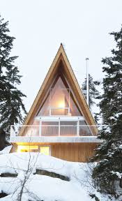 A Frame Lake House Plans Whistler Cabin Scott U0026 Scott Architects Archdaily