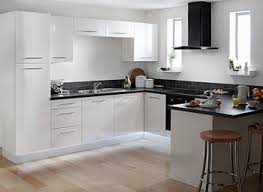 combinate gray kitchen cabinets with black appliances modern grey