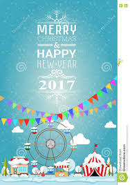 happy new year invitation invitation card merry christmas and happy new year 2017 on fair