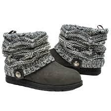 womens knit boots muk luks womens patti cable cuff boot walmart com