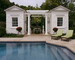 Small Pool House Designs Great Pool Design Ideas Pool Modern With White Adirondack Chairs