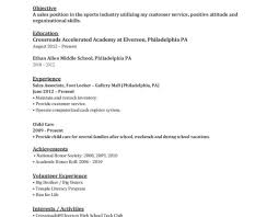 My First Resume Template Resume Template Of Help Building Resume Help Building Resume