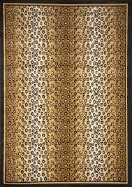modern leopard animal print area rug 8x11 zebra safari carpet