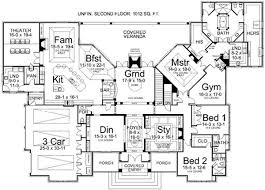 1 story luxury house plans luxury style house plans 5194 square foot home 1 story 3