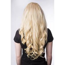 light ash blonde clip in hair extensions princess deluxe hair light ash blonde color 60 luxury for