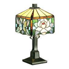 Stained Glass Ceiling Fan Light Shades Floor Ls Style Stained Glass Floor L Vintage Shades