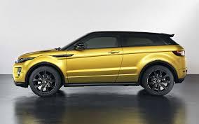 range rover evoque gains new black design pack sicilian yellow