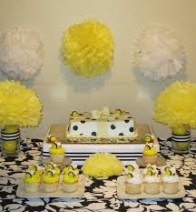 bumble bee baby shower theme simplyiced party details bumble bee baby shower baby shower