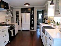 black and white kitchens ideas black farmhouse sink home design ideas and pictures