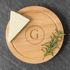 personalized cheese platter personalized rubberwood 5 gourmet cheese board set free